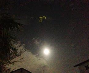 2013年最後の満月