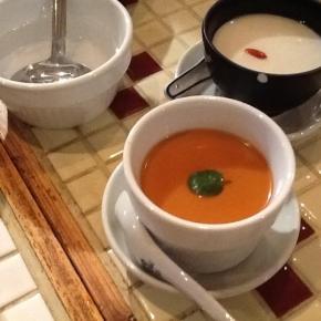 家庭では味わえない珍しい野菜を沢山いただきました! @ 渋谷道玄坂 月世界(料理2)