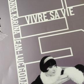 ジャン・リュック・ゴダール監督『男と女のいる舗道 Vivre sa vie』(1962年作品)のパンフレット