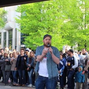 ベルリン出張2015春夏3-6「クロイツベルクのフェス」(ドイツのラッパー!ヒップホップ万歳!)