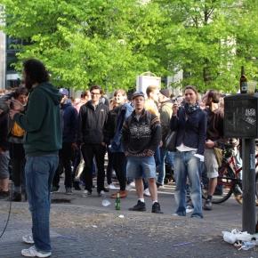 ベルリン出張2015春夏3-6「クロイツベルクのフェス」(ロングヘアのラッパー!ヒップホップ万歳!)