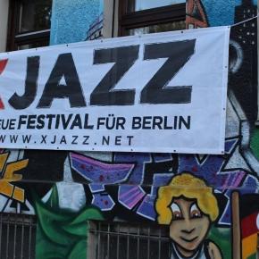ベルリン出張2015春夏3-6「クロイツベルクのフェス」(翌週行われるベルリンの大きなジャズフェスの告知)