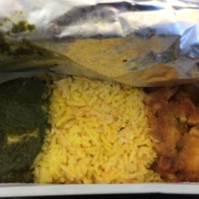 ベルリン出張2015春夏5-6「飛行機内では特別機内食をいただく」(アジアン・ヴェジタリアン 2)