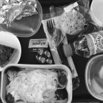 ベルリン出張2015春夏5-6「飛行機内では特別機内食をいただく」