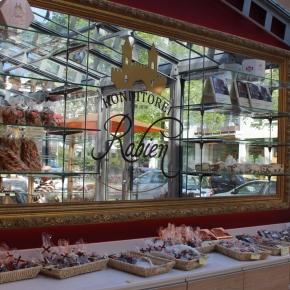 ベルリン出張2015春夏6-6「ベルリンのバウムクーヘン Konditorei Rabien」(店内)