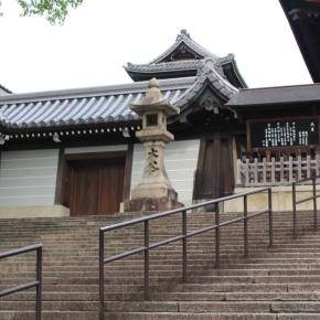 「京都東山にて」(大谷本廟 階段)