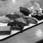 日本橋でお寿司を食べた(Sushi)