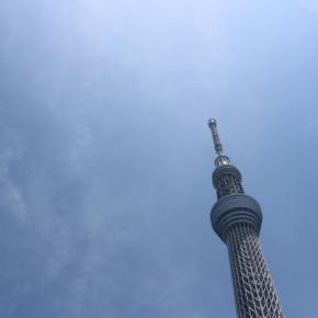 「はとバスに乗って東京観光」(スカイツリー)