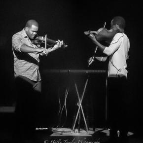 ヒップホップなヴァイオリンのデュオがナイス!ご注目を!