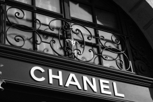Flickr : Henri.Boker : Chanel sign on store in Paris, France