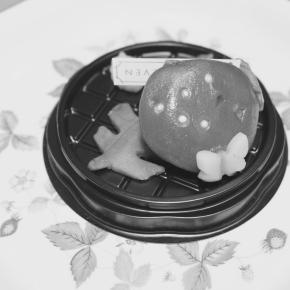 キノコの形をした和菓子