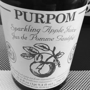 ノンアルコールのピュアポム スパークリングジュース アップルで新年を祝う